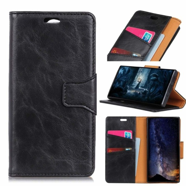 Crazy Horse Samsung Galaxy S10e magnetic split leather case