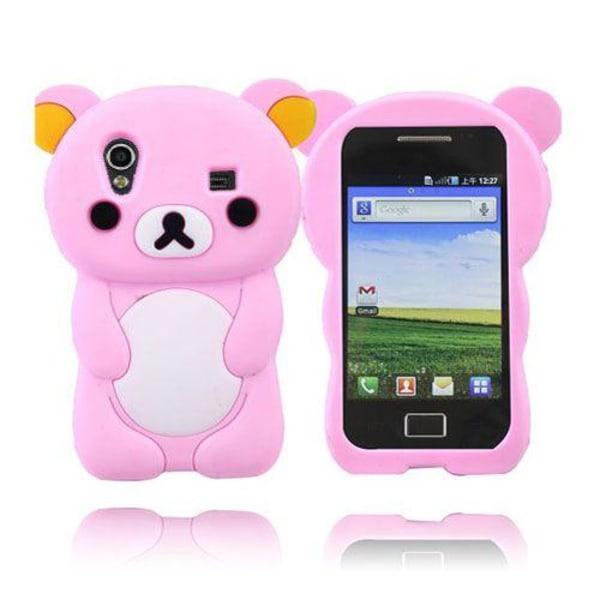 Cute Bear (Rosa) Samsung Galaxy Ace Skal