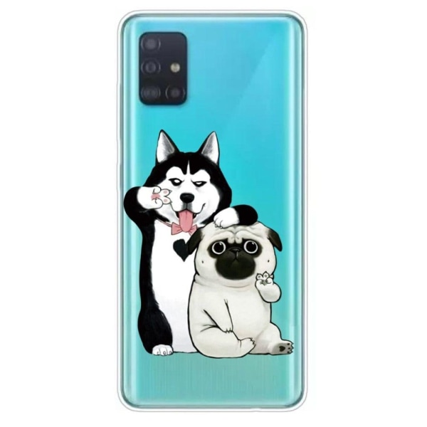Deco Samsung Galaxy A51 case - Dogs