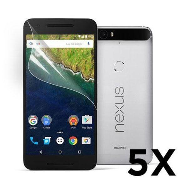 Displayskydd till Google Nexus 6P. 5 st.