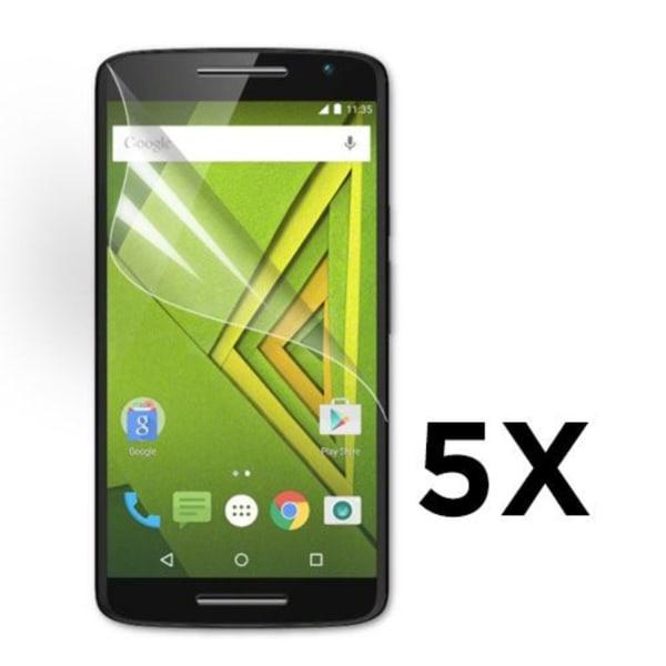 Displayskydd till Motorola Moto X Play. 5 st.