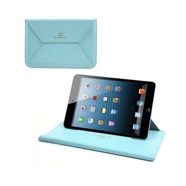 Envelope (Ljusblå) Tablet 8 Läderfodral / Stativ