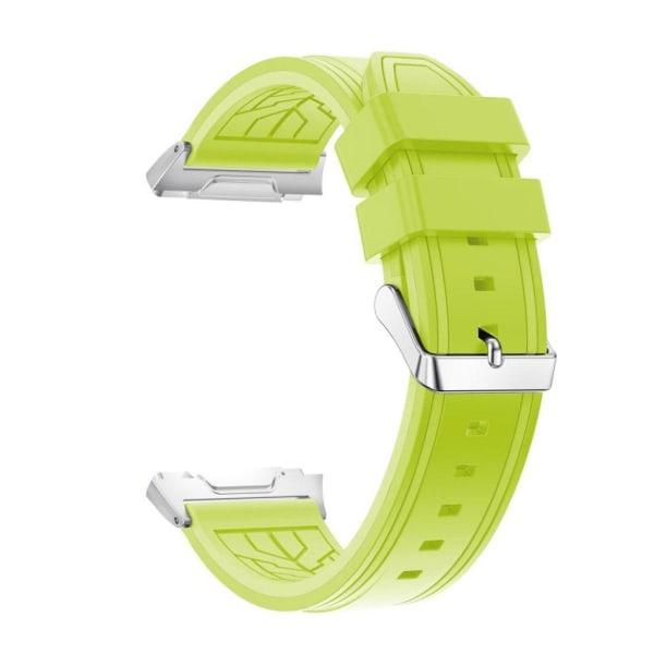 Fitbit Ionic Klockband med linjer - Grön