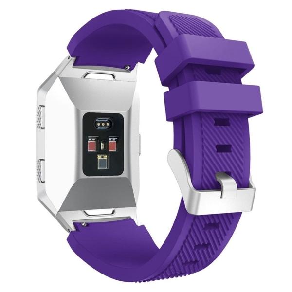 Fitbit Ionic Mjukt silikon klockband - Lila
