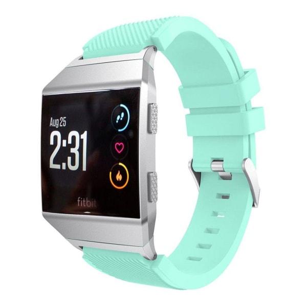 Fitbit Ionic Mjukt silikon klockband - Turkos