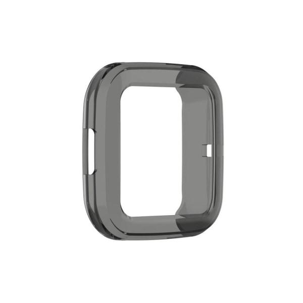 Fitbit Versa 2 flexible translucent case - Black