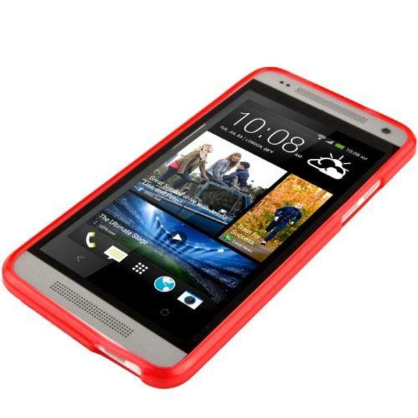 Flex (Röd) HTC One Mini Skal