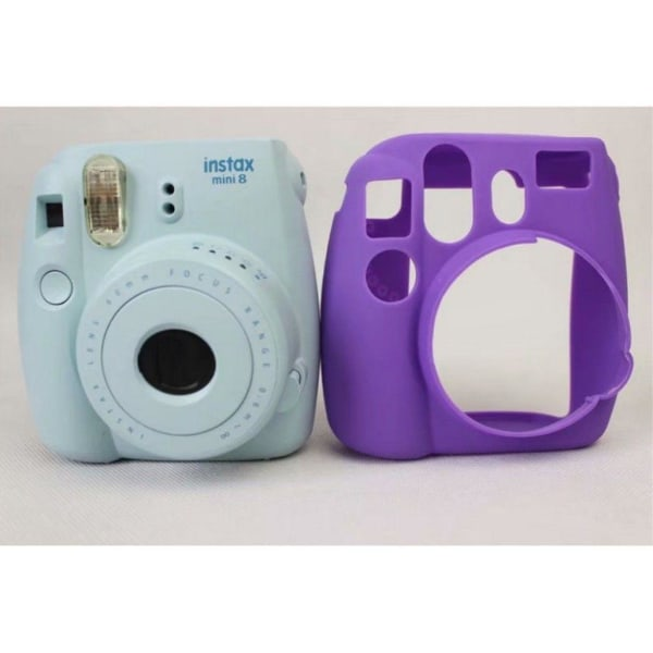 FUJIFILM Instax Mini 8 kameraskydd silikon - Lila