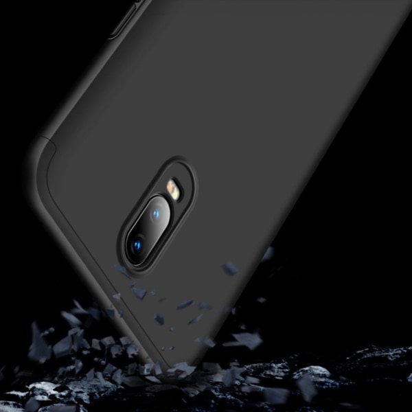 GKK OnePlus 6T detachable matte case - Black
