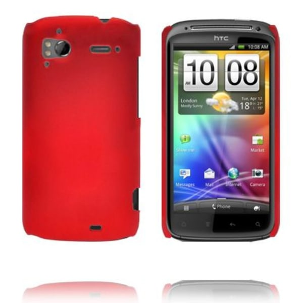 Hårdskal (Röd) HTC Sensation Skal