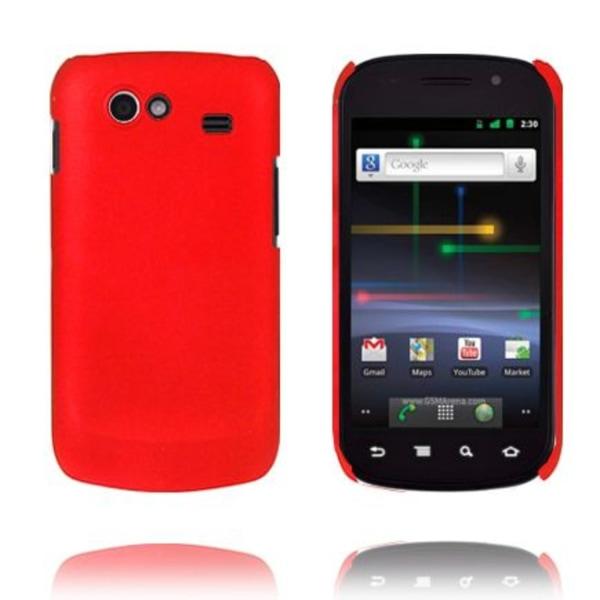 Hårdskal (Röd) Samsung i9020 Google Nexus S Skal