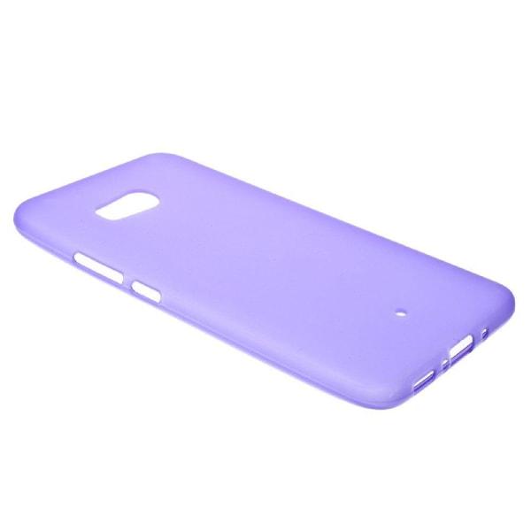 HTC U11 Enfärgat skal i silikon - Lila