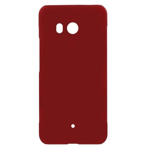 HTC U11 Enfärgat skal - Röd