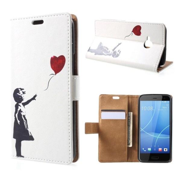 HTC U11 Life Fodral med ett läckert motiv - Flicka hjärta
