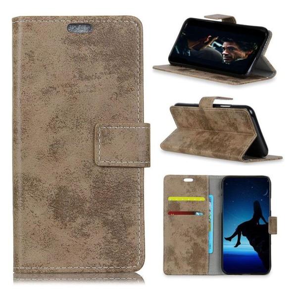 HTC U12+ mobilfodral konstläder silikon stående plånbok - Kh