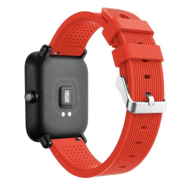 Huami Amazfit klockarmband 316L rostfri stål silikon - Orang
