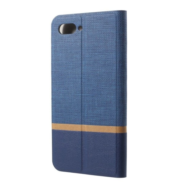 Huawei Honor 10 mobilfodral PU läder TPU material metall pla