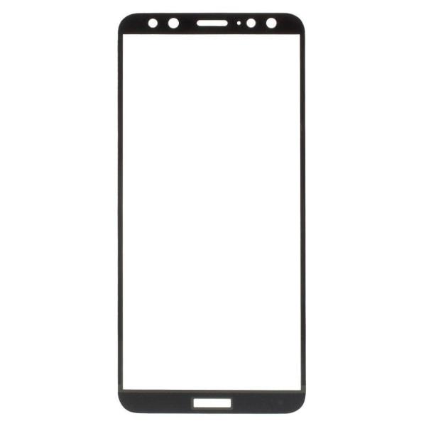 Huawei Mate 10 Lite Extra glas med ram - Svart