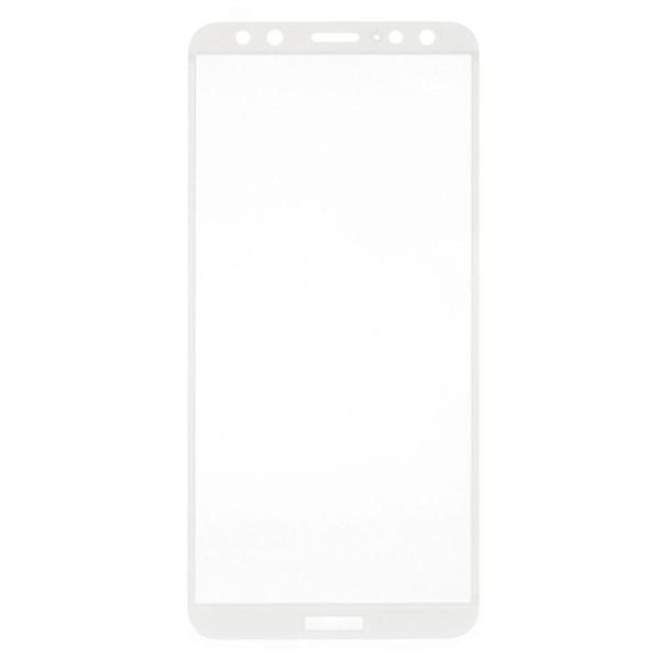 Huawei Mate 10 Lite Extra glas med ram - Vit
