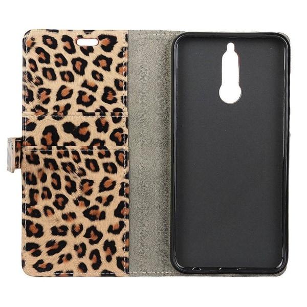Huawei Mate 10 Lite Fodral med leopard mönster - Leopard