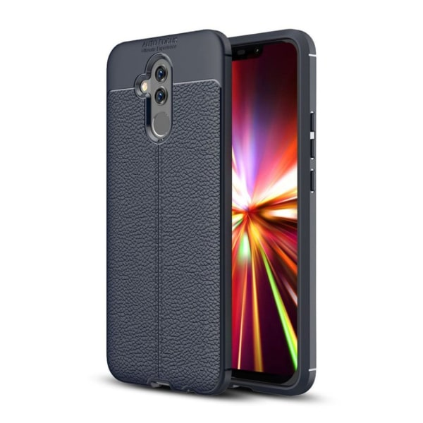 Huawei Mate 20 Lite litchi grain soft case - Dark Blue