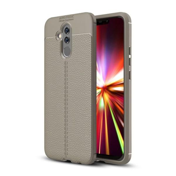 Huawei Mate 20 Lite litchi grain soft case - Grey