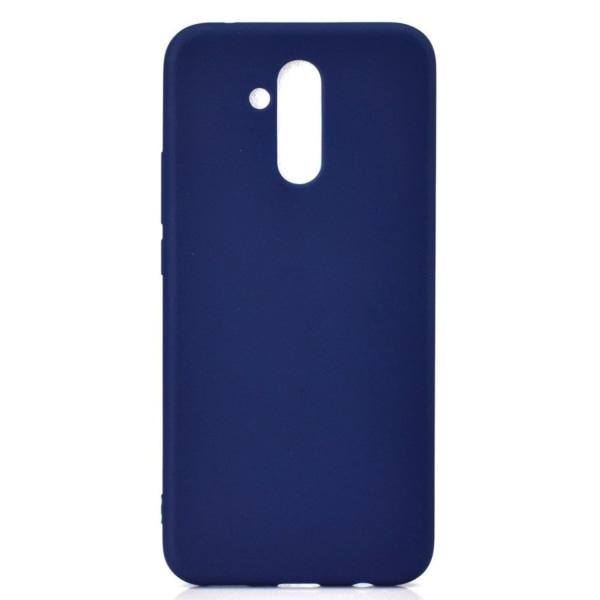 Huawei Mate 20 Lite solid color matte case - Dark Blue