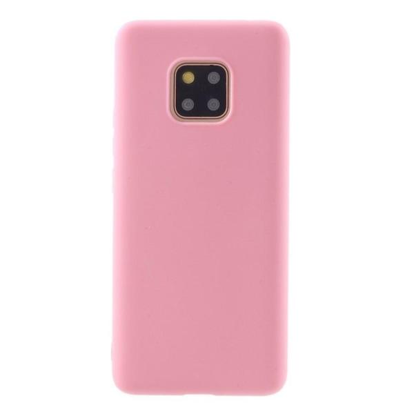 Huawei Mate 20 Pro mjukt silikonplast mobilskal med matt yta