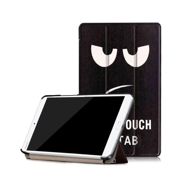 Huawei MediaPad M3 8.4 läderfodral - Don´t touch