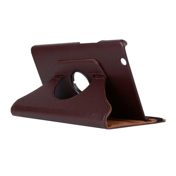 Huawei MediaPad M3 8.4 litchi läderfodral - Brun
