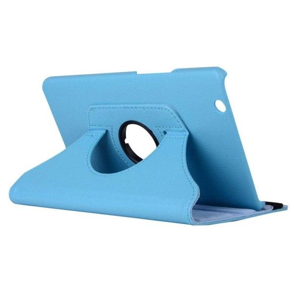Huawei MediaPad M3 8.4 litchi läderfodral - Ljusblå