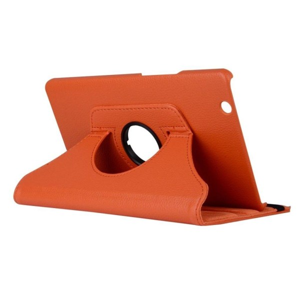 Huawei MediaPad M3 8.4 litchi läderfodral - Orange