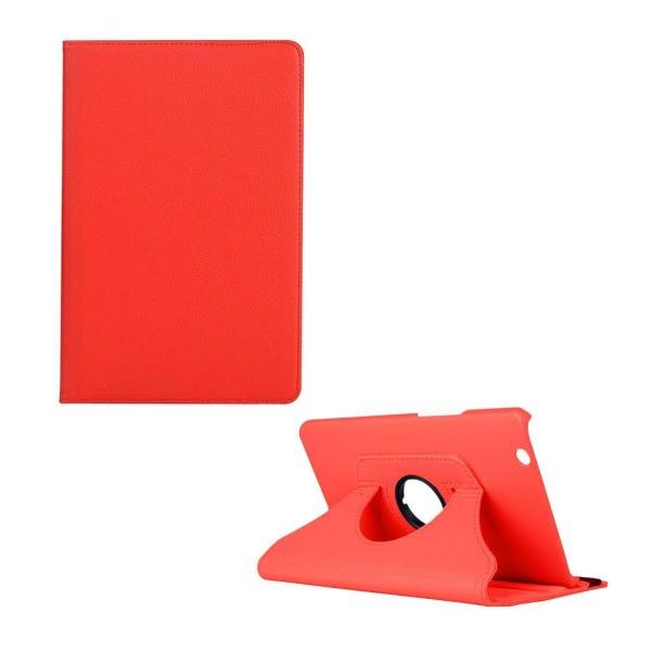 Huawei MediaPad M3 8.4 litchi läderfodral - Röd