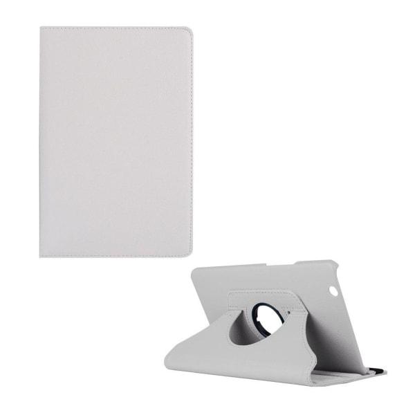 Huawei MediaPad M3 8.4 litchi läderfodral - Vit