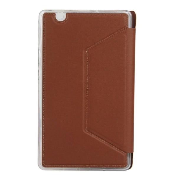 Huawei MediaPad M3 8.4 lychee fodral - Brun