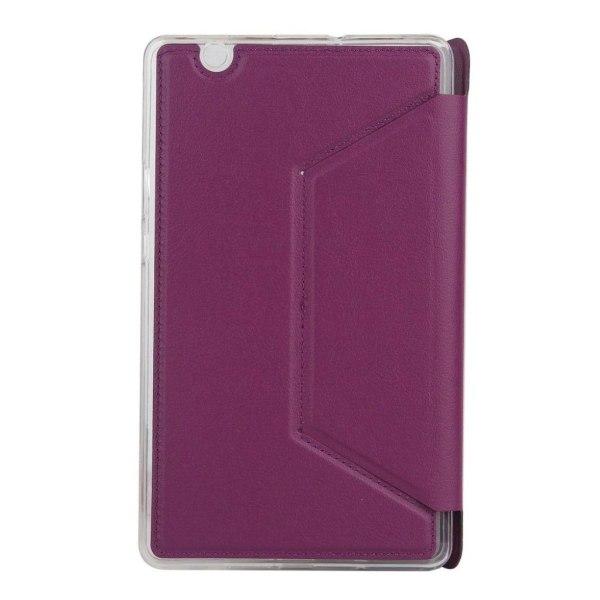 Huawei MediaPad M3 8.4 lychee fodral - Lila