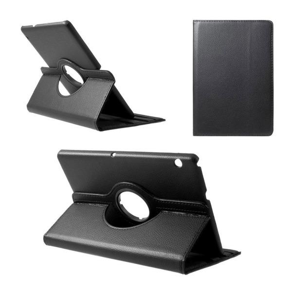 Huawei MediaPad T3 10 Vikbart fodral i läder - Svart