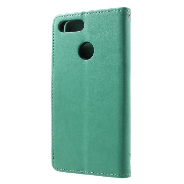 Huawei P Smart - Enjoy 7S mobilfodral syntetläder silikon st