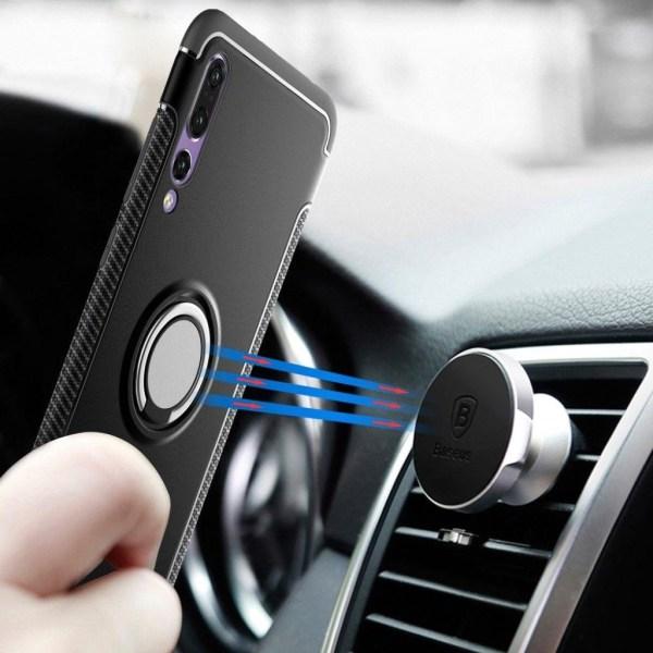 Huawei P20 Pro mobilskal silikon plast handring ställ - Svar