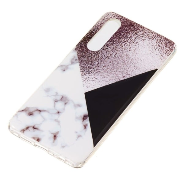 Huawei P30 marble pattern soft case - Style J
