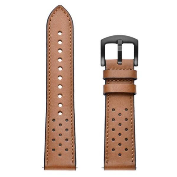 Huawei Watch GT klockband i äkta läder - Brun