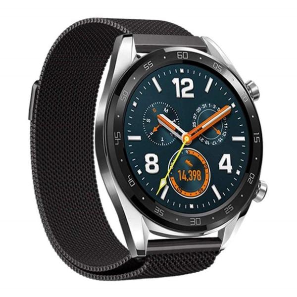 Huawei Watch GT klockband i  milanese rostfritt stål - Svart