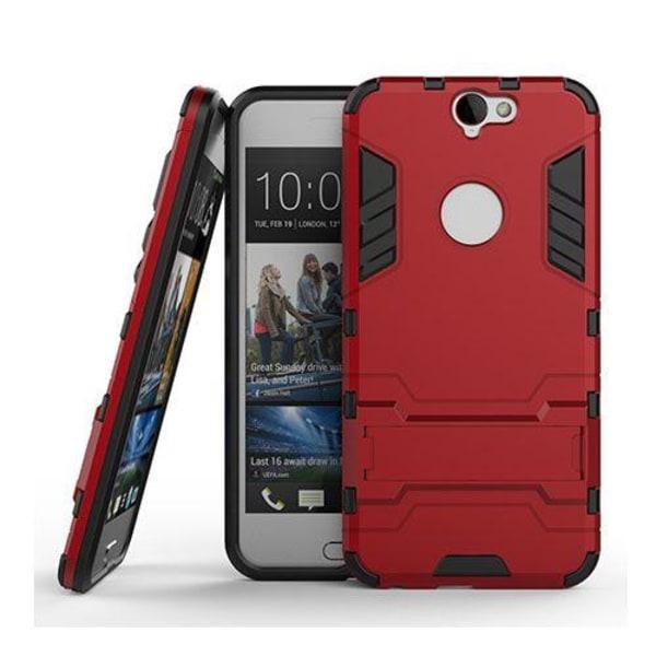 Hybrid HTC One A9 Silikon & Metall Skal - Röd