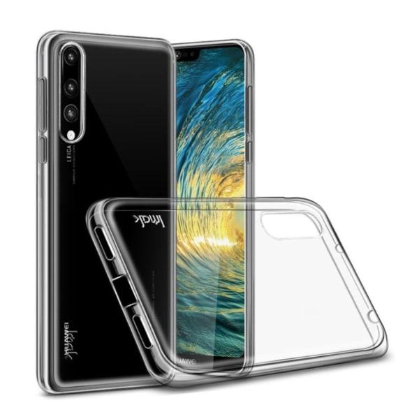 IMAK Huawei P20 Pro mobilskal TPU material skyddande kristal
