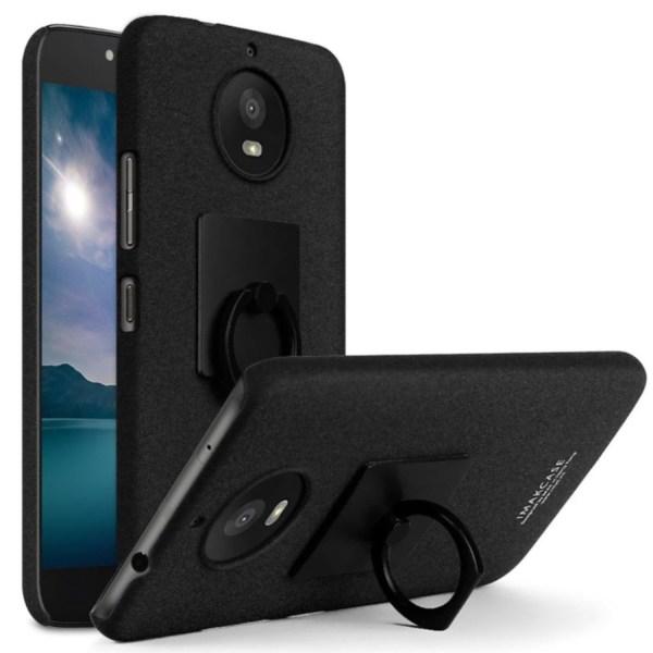 IMAK Motorola Moto G5S Skal med en smart ring hållare - Svar