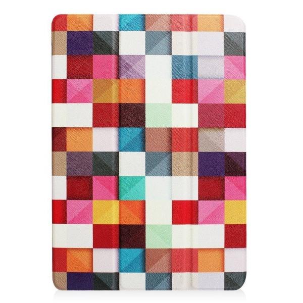 iPad (2017) mönster läderfodral - Rutigt mönster