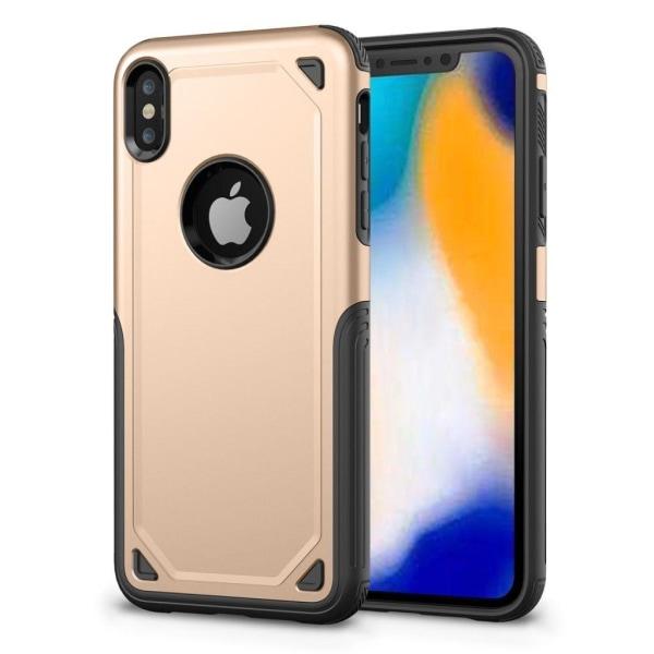 iPhone 9 Plus mobilskal plast silikon halkfri - Guld