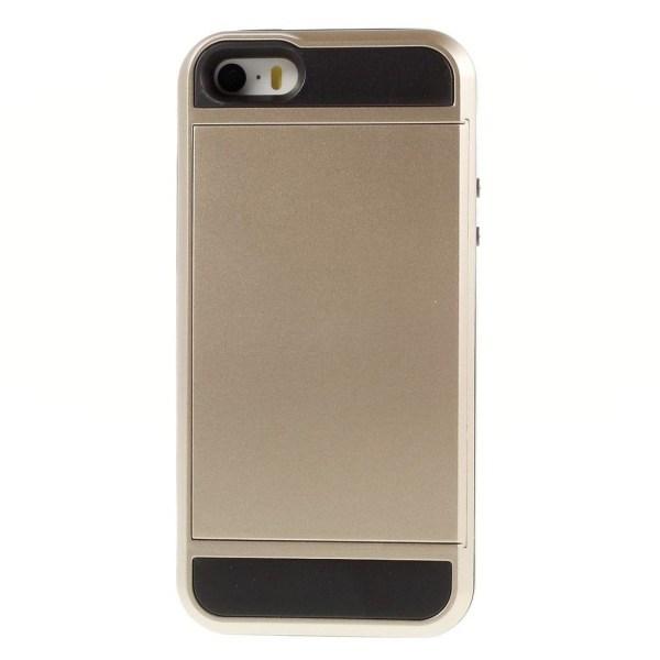 iPhone SE / 5 / 5S Skal med ett inbyggt kreditkortsfack - Gu