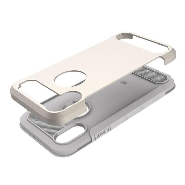 iPhone X Karbon fiber designat skal - Guld
