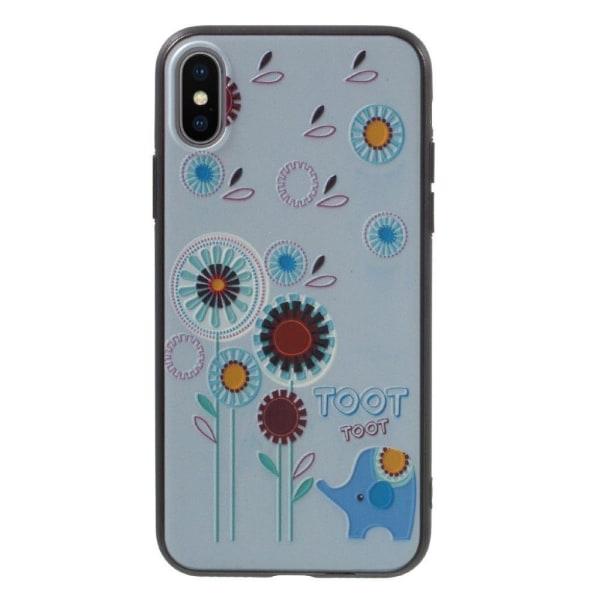 iPhone X Skal med ett läckert motiv - Blommor